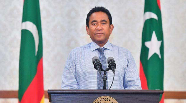 President Abdulla Yameen, while accepting defeat. Yameen now joins a growing list of global leaders ousted this year amid public outrage over human rights abuses and corruption, including Malaysia's Najib Razak and South Africa's Jacob Zuma.
