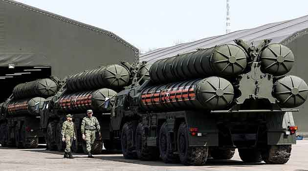 S-400 missile - the talking point.